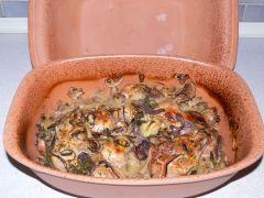 rimsky hrniec s jedlom